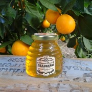 Bradshaw Honey Farms-Orange Blossom Honey-12oz Skep Jar