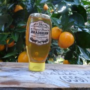 Bradshaw Honey Farms-Orange Blossom Honey-16oz Squeeze Bottle