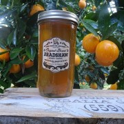 Bradshaw Honey Farms-Orange Blossom Honey-32oz Mason Jar